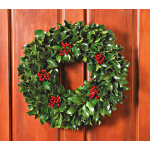 Traditional Holly Wreath