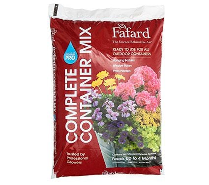 Fafard Complete Container Mix in Red Bag