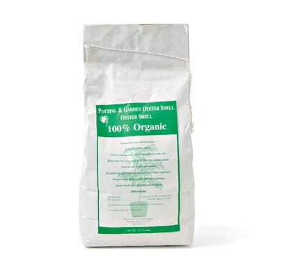 Potting & Garden Oyster Shell Amendment, 10lb bag