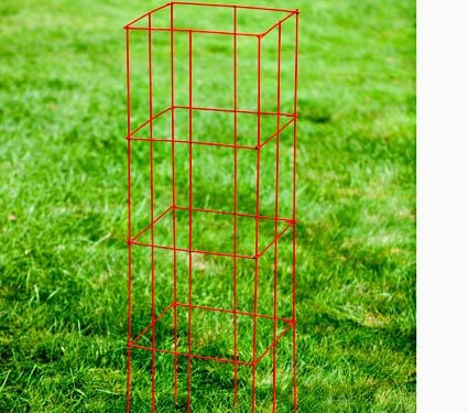 Collapsible Tomato Cage Set Of 3 White Flower Farm