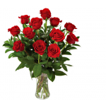 The Unforgettable Red Rose Bouquet