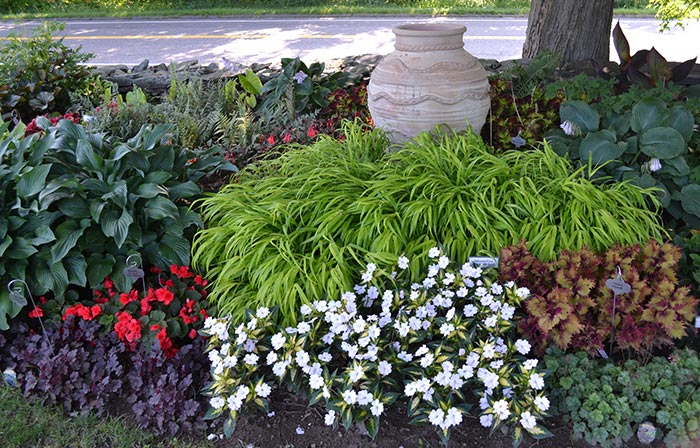 Beautiful display gardens white flower farm 7 shade border changing combinations of bulbs perennials and annuals appear here each year and youre sure to come away with new ideas for your own mightylinksfo